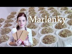 Marlenky - recept na medovo-orechové guličky marlenky - VIDEO Ako sa to robí. Christmas Cookies, Cereal, Sweets, Baking, Breakfast, Cake, Desserts, Youtube, Food