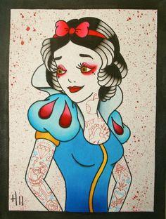 Snow white flash!