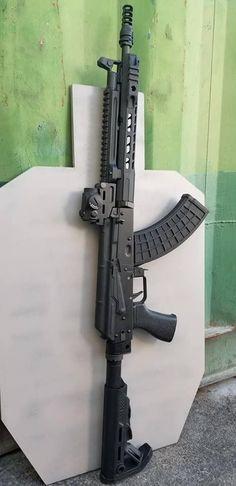 Airsoft Guns, Weapons Guns, Guns And Ammo, Tactical Rifles, Firearms, Tactical Survival, Ar Rifle, Armas Ninja, Ar Pistol