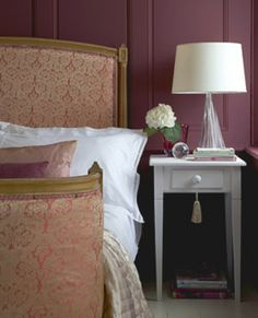 Gorge Colours Aubergine Bedroombedroom Design Inspirationlittle Greene Paint