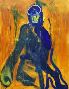 """Saatchi Art Artist Winston Chmielinski; Painting, """"The Monkey King"""" #art"""