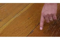 How to Clean an Unfinished Hardwood Floor | eHow
