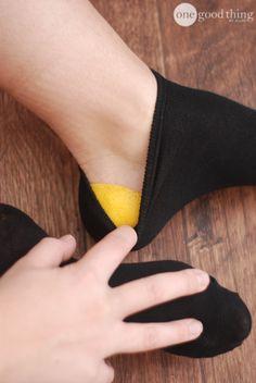 Fixing Cracked Heels