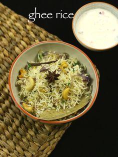 Veg Pulav Recipe, Chaat Recipe, Biryani Recipe, Entree Recipes, Rice Recipes, Lunch Recipes, Vegetarian Recipes, Cooking Recipes, Ghee Rice Recipe
