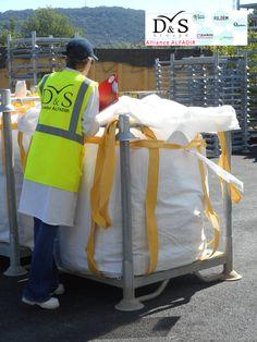 Contrôle colis déchets radioactifs, D&S