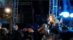 """Gloria Trevi en su Tour 2013 """"AGARRATE"""", presente en el Carnaval La Paz Misterio de los Mares."""