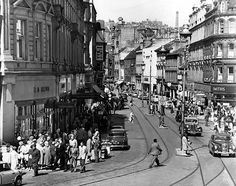Murraygate, Dundee city centre 1962. No image credit.