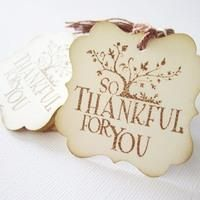 #Vintage Inspired So #Thankful #ThankYou #Tags from @Adorebynat