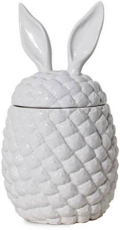 Pineapple & Rabbit Ear Container