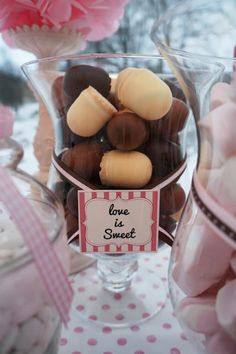Love is sweet Wedding Candy, Wedding Catering, Candy Buffet, Love Is Sweet, Wedding Stuff, Day, Candy Stations, Candy Boxes, Candy Bars