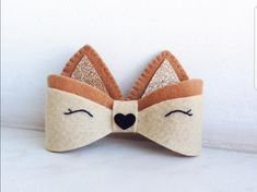 Find More Hair Accessories Information about Sweet girls cute new cherry bow hairpins ornaments Tiar Felt Hair Accessories, Diy Accessories, Diy Hair Bows, Diy Bow, Diy Headband, Baby Headbands, Baby Crafts, Felt Crafts, Felt Bows
