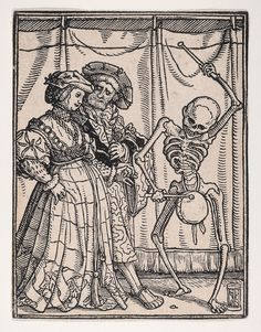Hans Holbein's Dance of Death Hans Holbein Le Jeune, Hans Holbein The Younger, Dance Of Death, Way To Heaven, Maker Culture, Penguin Classics, Vanitas, Woodblock Print, Metropolitan Museum