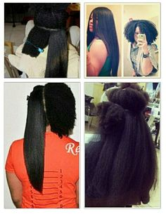 I wish I could show this to all those jealous girls with perms that feel the need to talk about brave girls and women who chose to go natural and that have the nerve to say natural, black hair cant grow without a perm etc. Natural has is beautiful , always was always WILL BE!!!