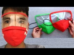 How to sew a simple mask Easy Face Masks, Diy Face Mask, Reuse Old Clothes, Fashion Mask, Diy Mask, Mask Design, Sewing Techniques, Sewing Tutorials, Masks Art
