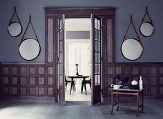 Reedition du Miroir de Jacques Adnet pour Hermes - créé 1950
