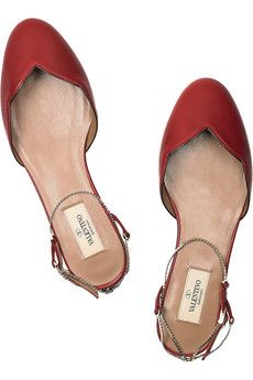 fantasy red shoes