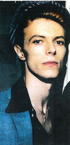 David Bowie circa 1976-77, very pretty.