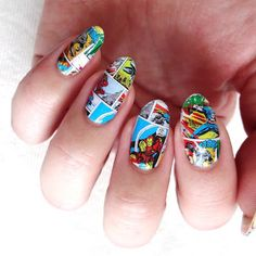Lacquered Lawyer | Nail Art Blog: Your Hero