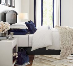 Bedroom Basics Ground A Space And Give You Room To Play With Pattern And  Texture In Your Decor. This Functional Bedside Offers Plenty Of Storage  With A ...