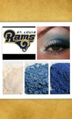 Younique Saint Louis Rams eyes!