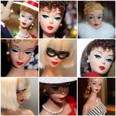 The many faces of Barbie, the doll who started it all!