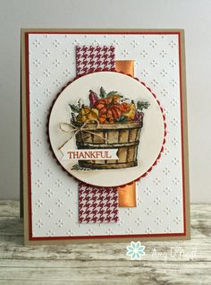 Basket of Fall Wishes — FMS254 | Amy's Paper Crafts