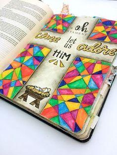 your ways are higher Art Journaling, Bible Study Journal, Scripture Study, Bible Art, Bible Drawing, Bible Doodling, Bibel Journal, Christmas Bible, Faith Bible
