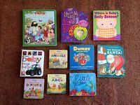 Lot of 10 Children's BOARD Books Lower Elementary Toddler Preschool Daycare (D)