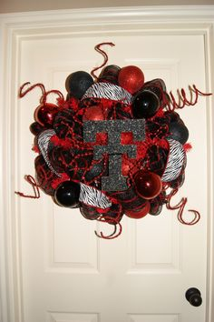 Texas Tech wreath!