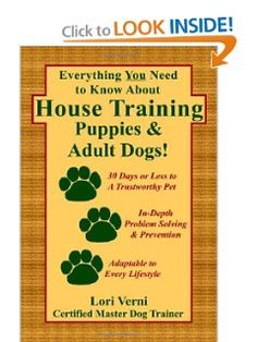 Whether you have a puppy first learning, an adult dog with ongoing confusion, or just want to teach your pet to use a designated area, this book answers literally every housebreaking question! Click for info!