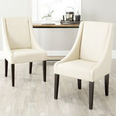 online shopping for Safavieh Mercer Collection Austin Taupe Leather Sloping Arm Chair, Set 2 from top store. See new offer for Safavieh Mercer Collection Austin Taupe Leather Sloping Arm Chair, Set 2 Cream Dining Chairs, Leather Dining Chairs, Upholstered Dining Chairs, Dining Chair Set, Dining Room Chairs, Side Chairs, Chair Upholstery, Lounge Chairs, Dining Tables
