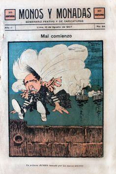 Monos y Monadas #84 de agosto de 1907