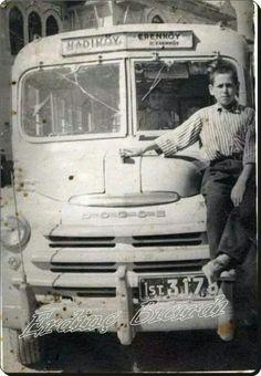 İstanbul, Kadıköy-Erenköy arası bir dolmuş ve çocuk (1948) #istanlook