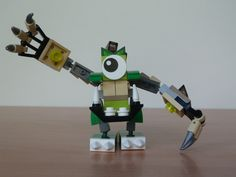 LEGO MIXELS GLOMP HOOGI MURP instructions video with Lego 41518 and Lego 41523 Mixels Serie 3