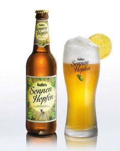 Cerveja Gaffels SonnenHopfen, estilo Blond Ale, produzida por Gaffel Becker & Co., Alemanha. 4.7% ABV de álcool.