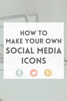 How to make social media icons in Photoshop · Elan Blog Studio