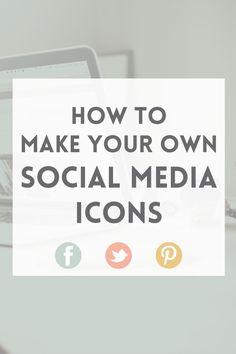 How to make social media icons in Photoshop · Elan Blog Studio