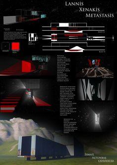 Architecture layout, mimari pafta, design, dizayn, akustik, akustisch,