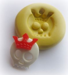 Silicone Skull Mold Crown Cabochon Molds