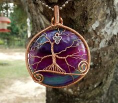 Hey, I found this really awesome Etsy listing at https://www.etsy.com/listing/206452282/copper-tree-of-life-pendant-covering