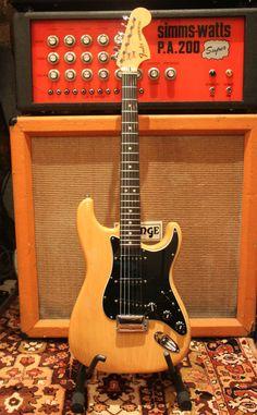 Vintage 1976 Fender USA Natural Blonde Stratocaster 7.8lbs Electric Guitar MINT   eBay