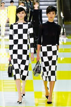 fe2ea85aa Black and white patterns   patterned clothing seen at LV. Louis Vuitton  Online