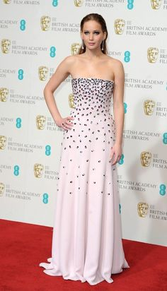 Jennifer Lawrence Evening Dress