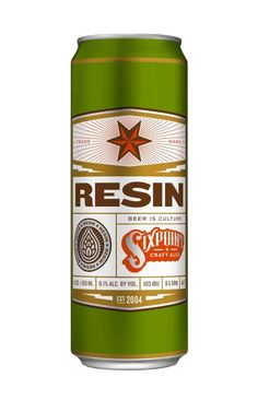 New Resin Double IPA from Sixpoint. Very good west-coast-style DIPA. Delicious
