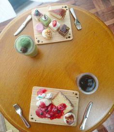 #miniature#handmade#miniaturefood#fakesweets#instagramjapan#cake#cheesecake