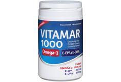 Vitamar 1000 100 kaps etyyliesteröity Omega-3-kapseli - Prisma verkkokauppa Omega 3, The 100