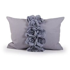 Flora Flower Cushion | Dunelm Mill
