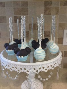 Baby Mickey Mouse Cake Pop by KnowAnOrdinaryMom on Etsy