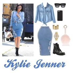 """Kylie Jenner"" by seattle12thgirl on Polyvore featuring Prada, CÉLINE, Michael Kors, Blue Nile, Case-Mate and River Island"
