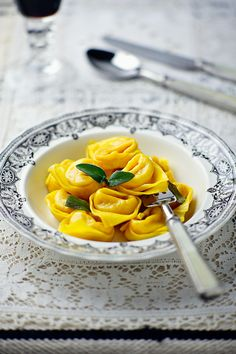 """P u m p k i n  tortilla from Bologna """"Cappellacci di Zucca"""", found in medieval sources of the XI century!"""